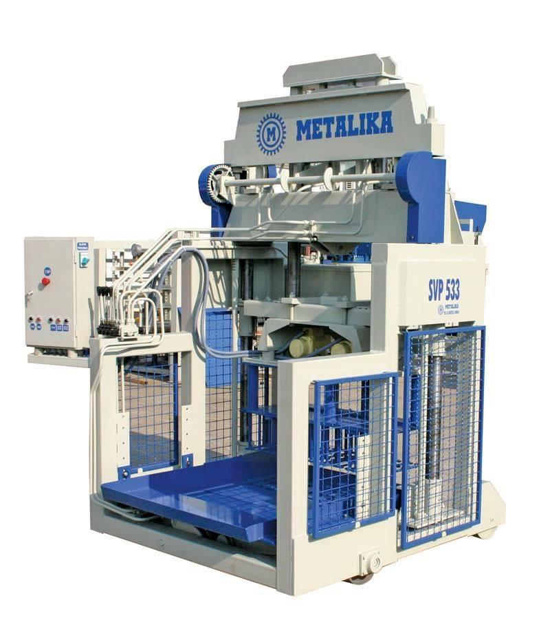 Metalika UVP-533 Concrete block machine