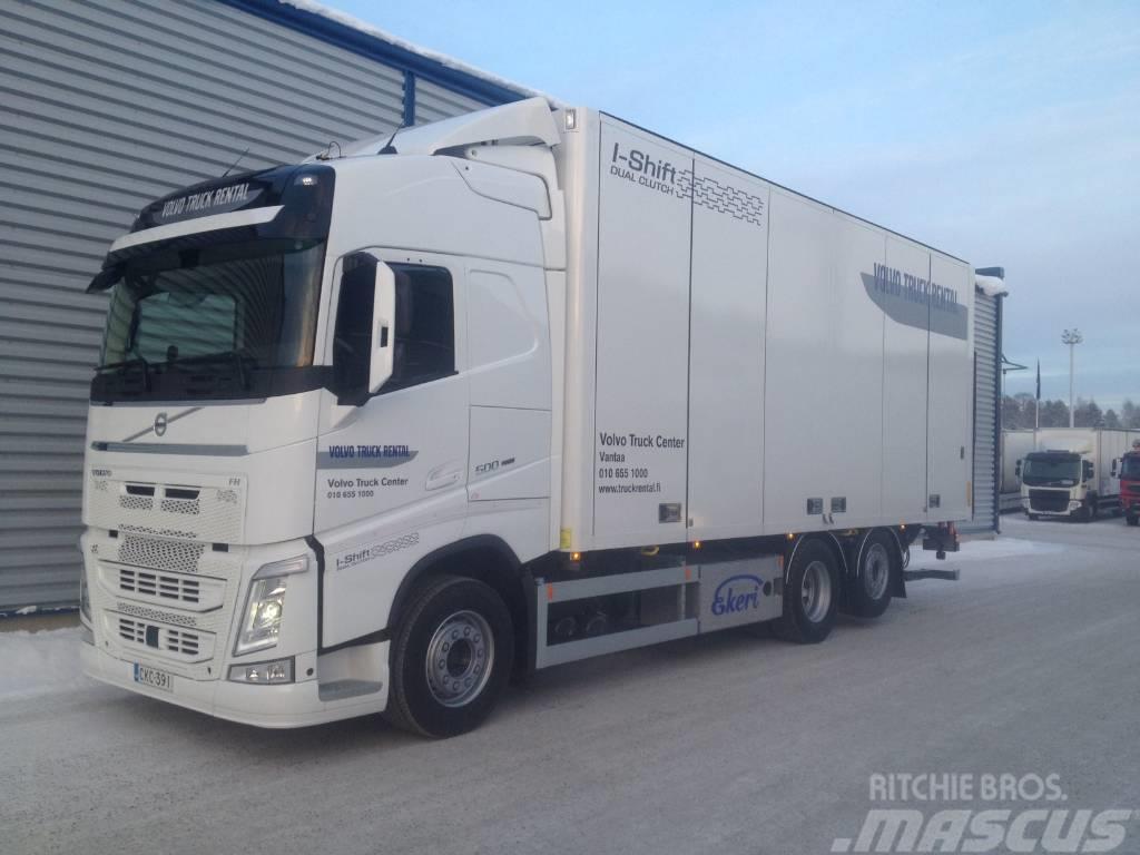 Volvo FH 6x2, umpikori 7,7 m, TL-nostin