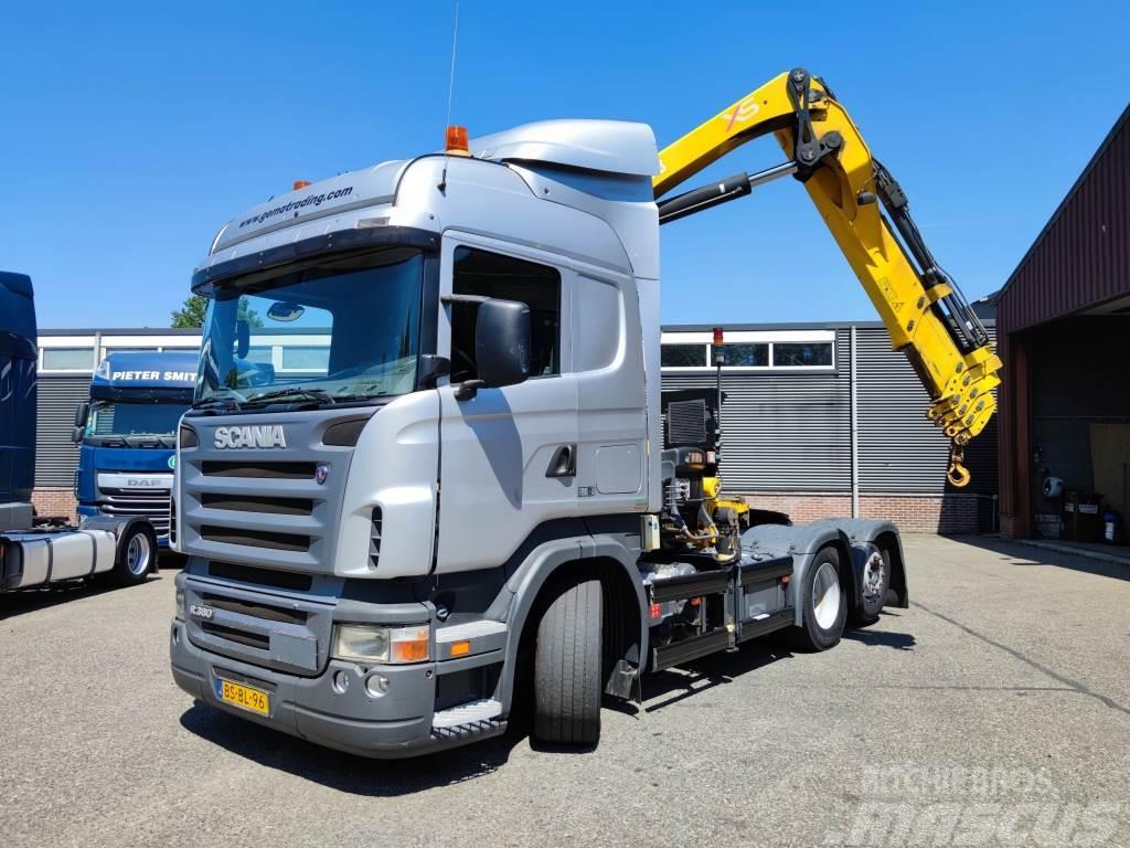 Scania R380 Topline 6x2/4 Euro 4 - HIAB 288 EP5 HIDUO - R