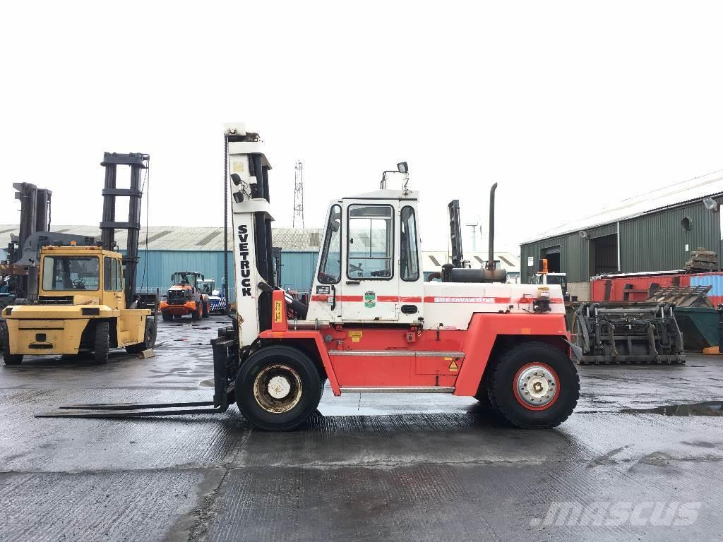 Used Svetruck 136-60 32 diesel Forklifts Year: 1995 for sale