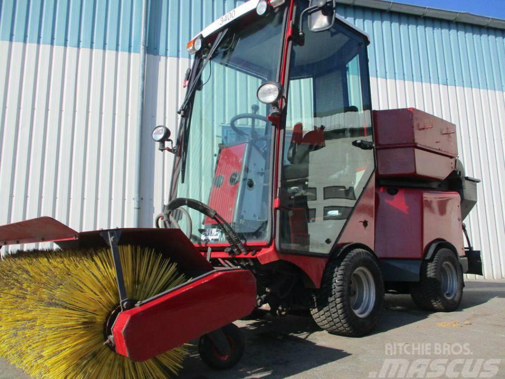 VPM 3400 sweeper + salt spreader john deere, stiga