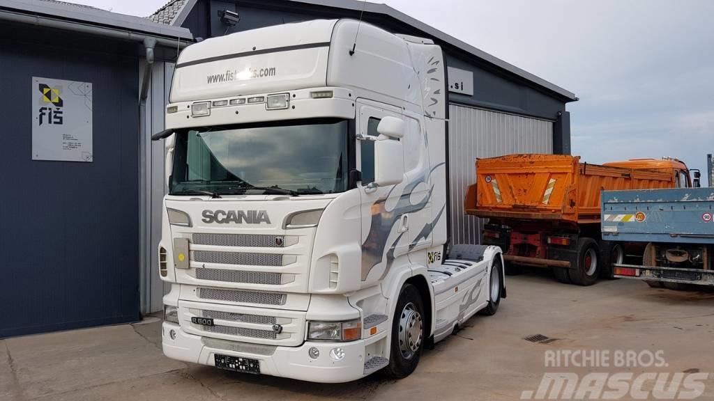 Scania R 500 V8 4X2 tractor unit euro 5 EEV