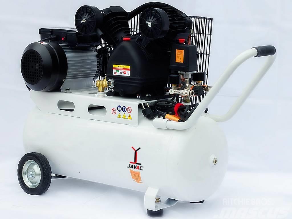 Javac SW455 Compressor - 3 PK - 10 bar - V-aandrijving