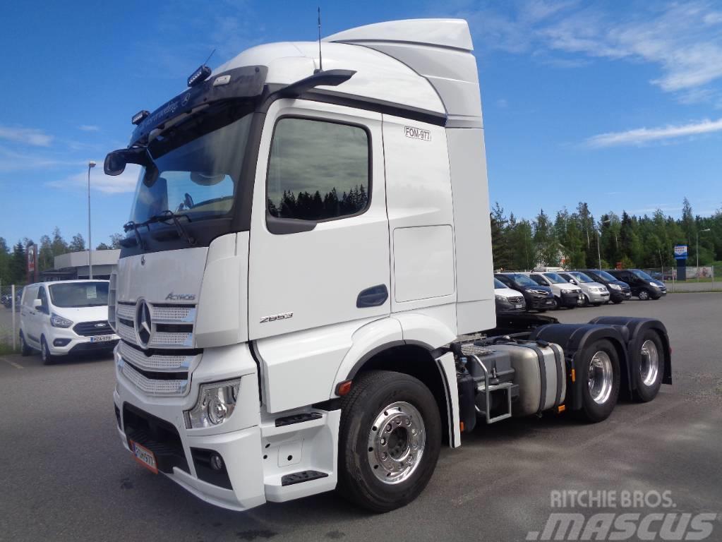 Mercedes-Benz Actros 2663 LS 6x4