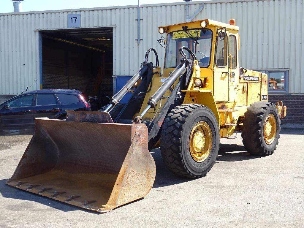 Volvo L70 Wheel Loader 4x4 First owner 13.397h only Top