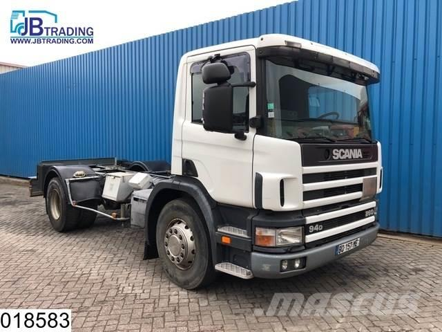 Scania P94 260 Steel suspension, Manual, ADR, PTO