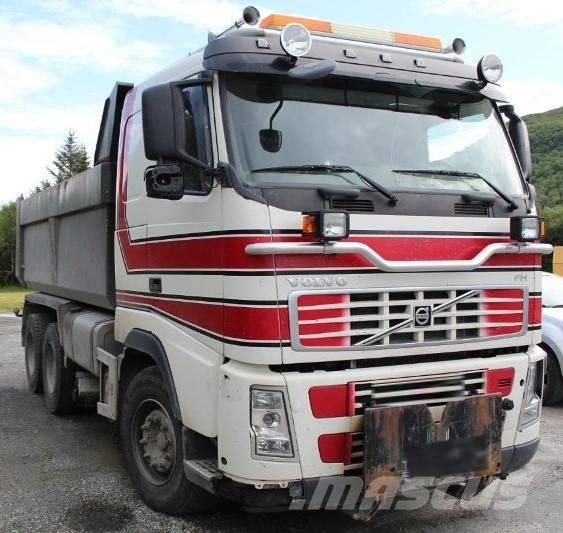 Volvo FH 520 / 6X4 / FULL STEEL / TIPPER / UNDER PLOUGH