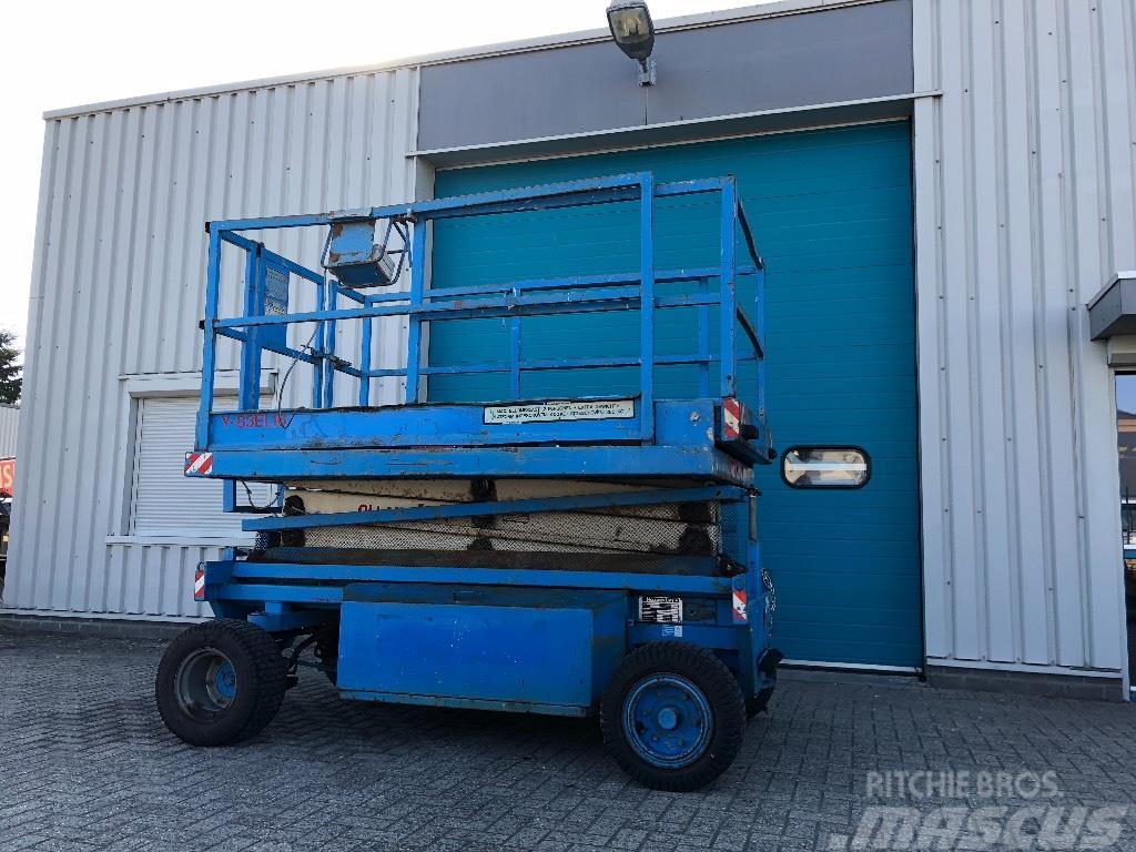 Holland Lift Schaar hoogwerker, 10,3 meter, electro