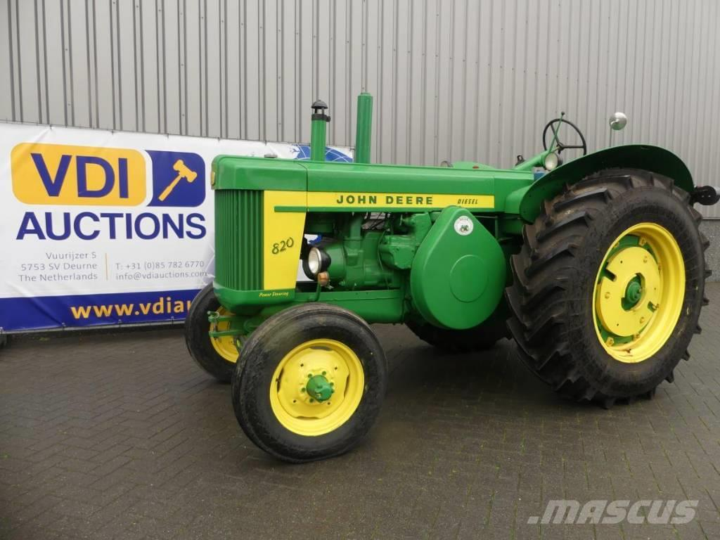 buy used john deere 820 tractors on auction mascus uk. Black Bedroom Furniture Sets. Home Design Ideas