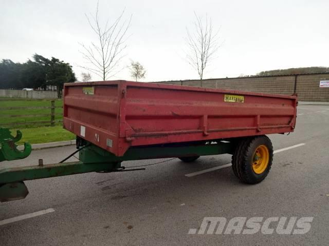 Marshall 4 Ton Dropside Tipping Trailer