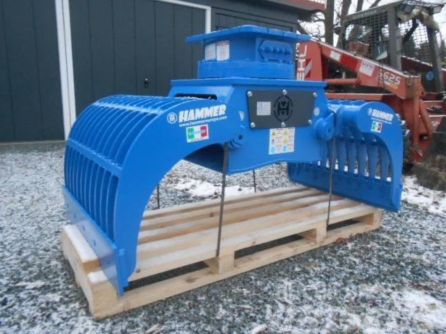Außergewöhnlich Hammer GRP 1000 Abbruchgreifer für Bagger 13-19 t Greifer &BD_64