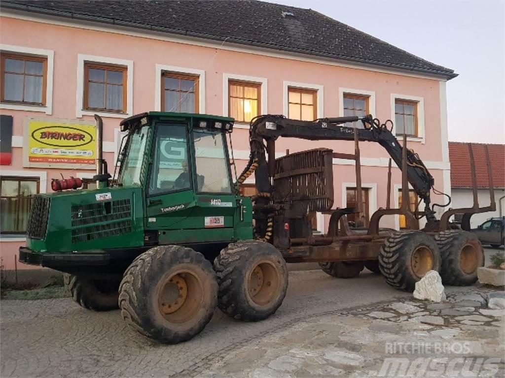 Timberjack 1410B Forwarder