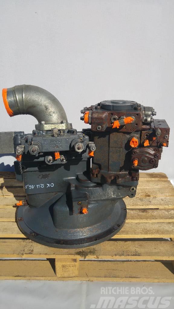 O&K RH16,5 Rexroth A8V 0200 Pompa Pump