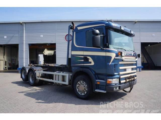 Scania 124-400 Manual 6x2 Euro 2 1998 Full steel