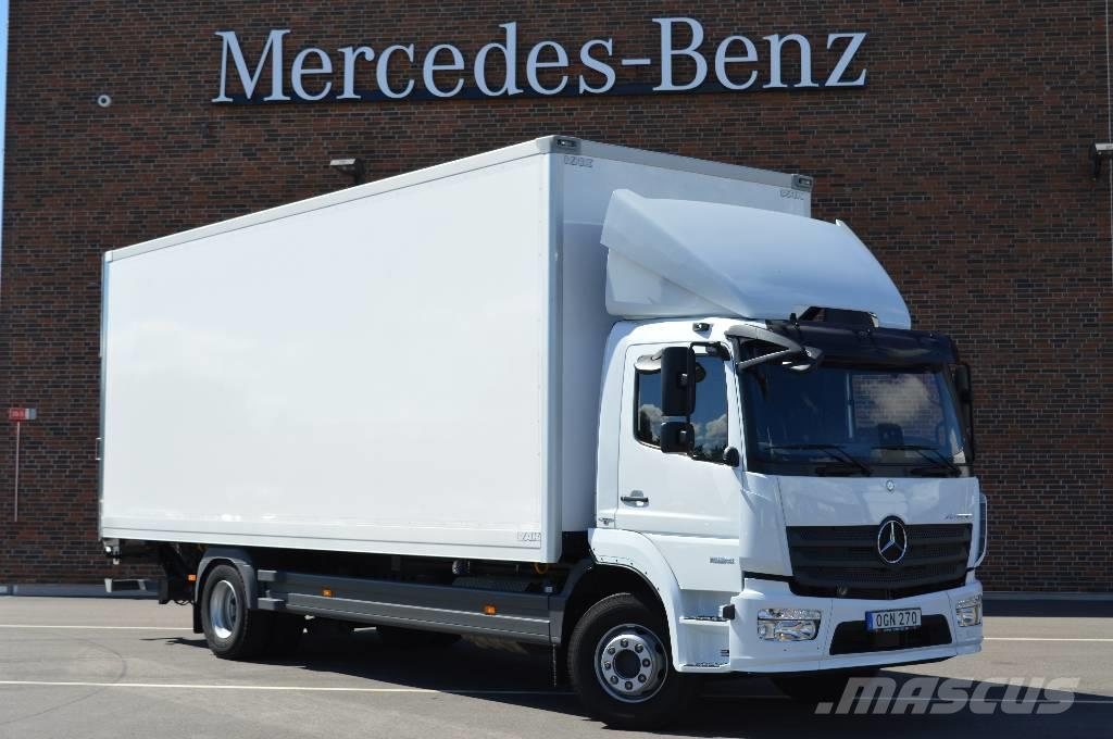 Mercedes-Benz Atego 1624 skåp 18 pall,finns på lager