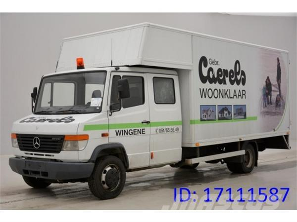 Used mercedes benz 814 dc box body year 2000 price for Mercedes benz belgique