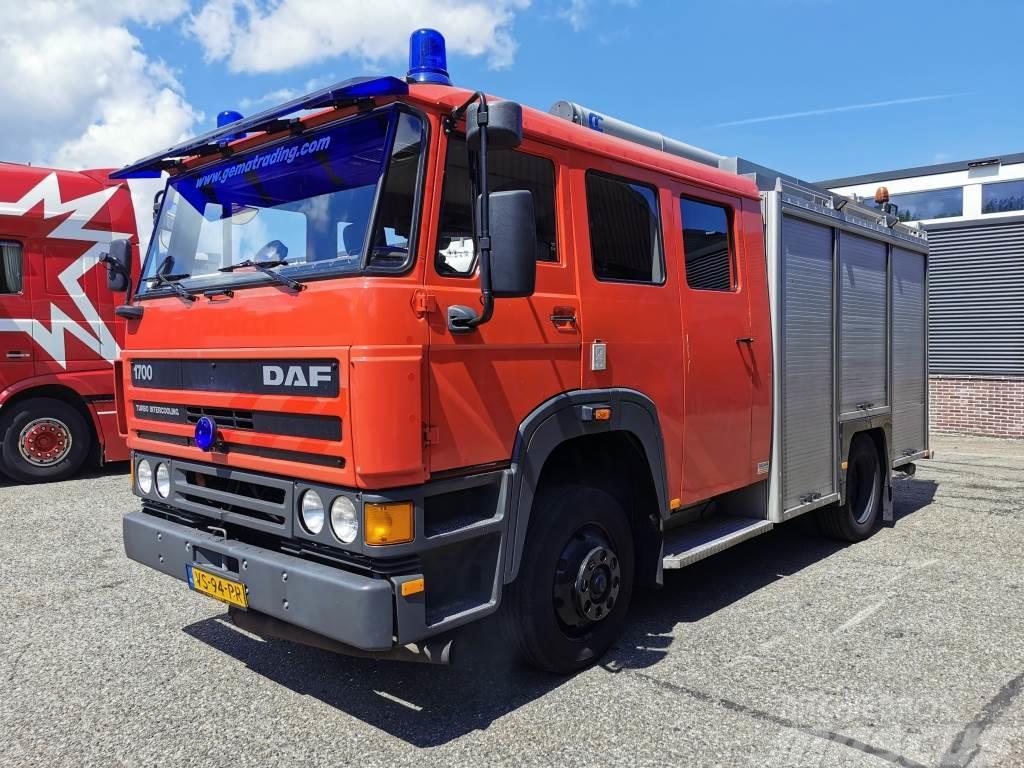DAF 1700 4x2 Euro1 Automaat Ziegler TS8 LD2800 HD260 T