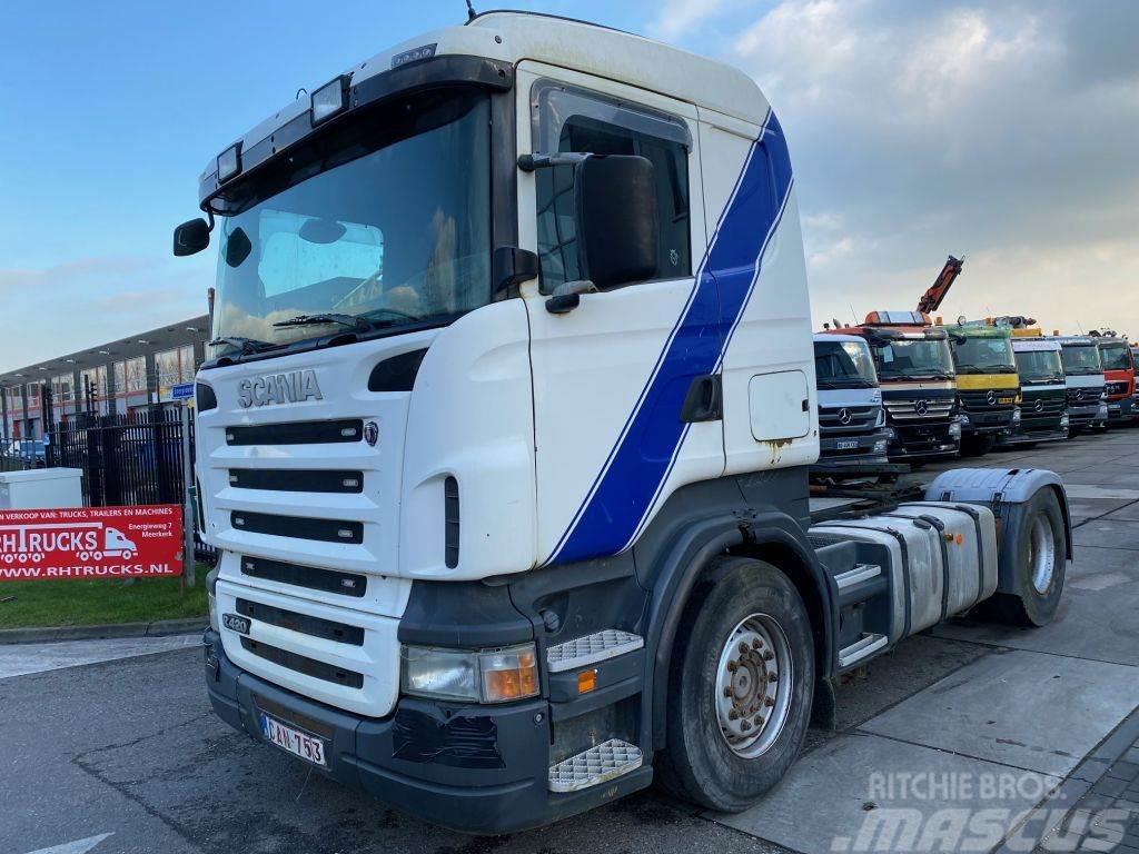 Scania R 420 MANUAL EURO 4 + KIEPHYDRAULIEK