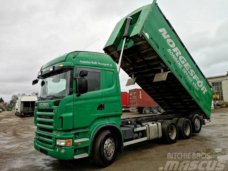 Scania R480LB8X4*4HNB TRIDEM