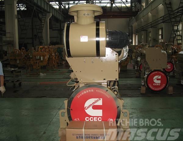 Cummins K19 marine engine with gearbox