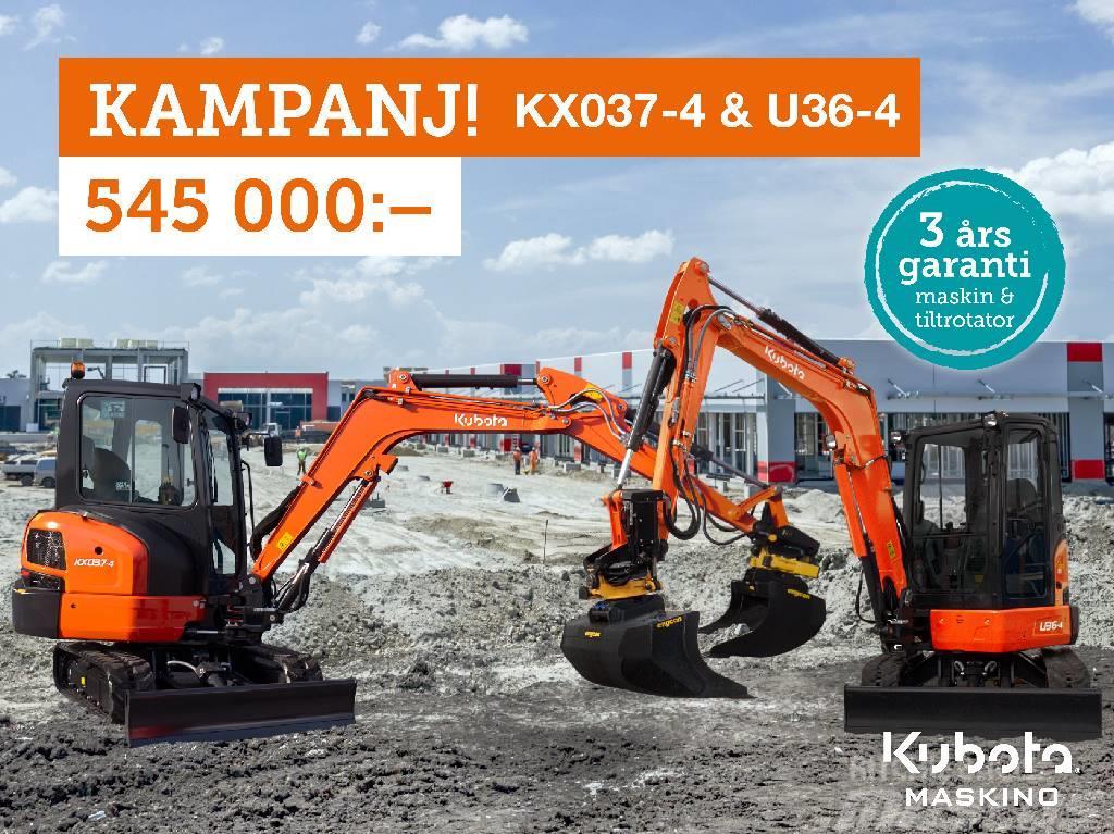 Kubota KX037 Kampanj 545.000