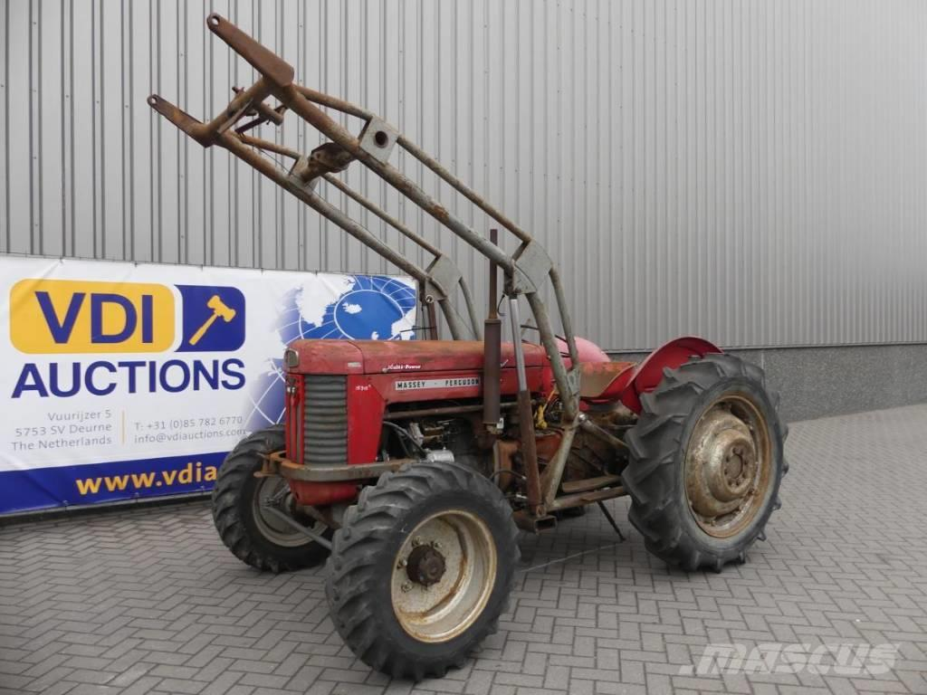 Massey Ferguson 65 4WD with Loader