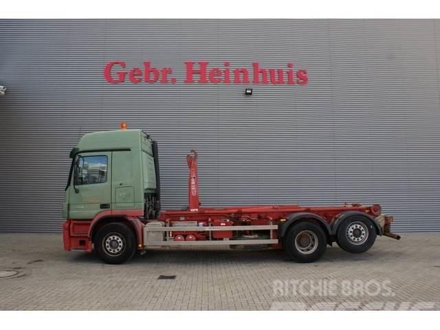 Mercedes-Benz Actros 2541 6x2 20 tons hooklift!