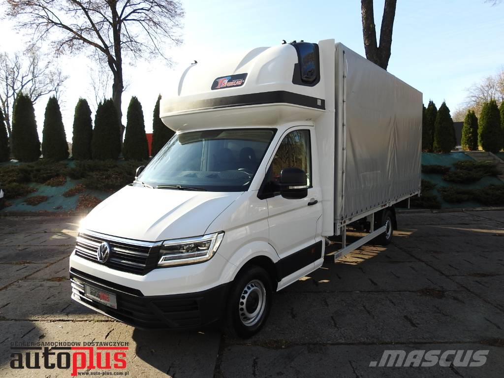 Volkswagen CRAFTER 10 PALETS WEBASTO A/C TEMPOMAT PNEUMATIC