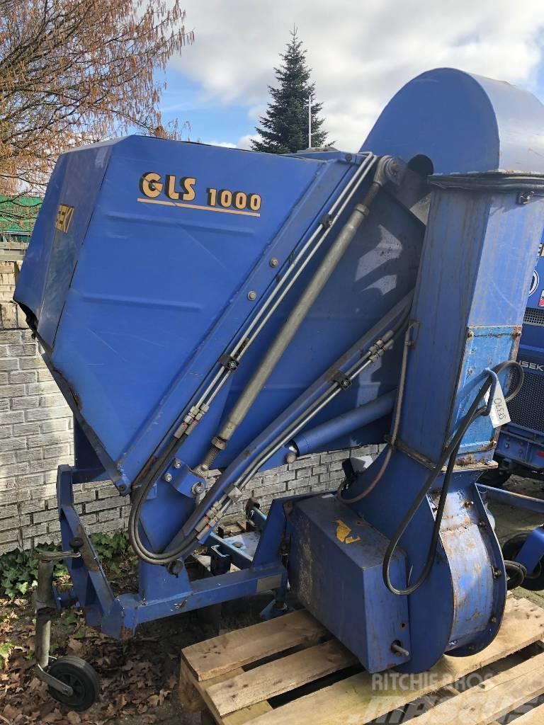 Iseki GLS 1000 H Gras- und Laubaufnahme * hydr. Hochentl