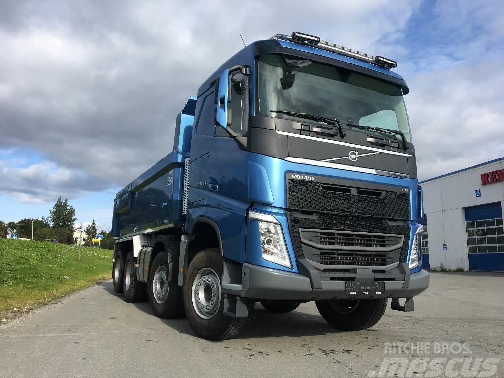 Used Volvo FH 540 8x4 Tandemløft, VDS, skinn +++ dump Trucks Year: 2017 for sale - Mascus USA