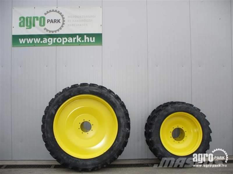 BKT NEW Row crop wheel set 12.4R32 and 13.6R48 for 6 c