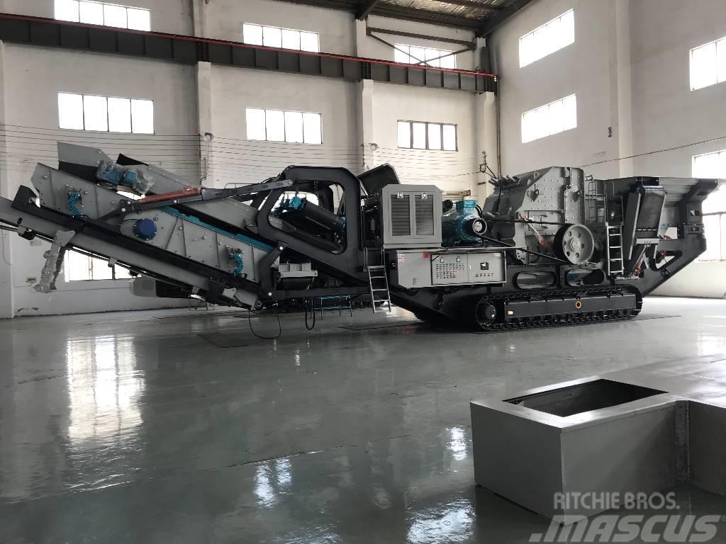 Kinglink KL100RS Crawler mobile impact crushing plant