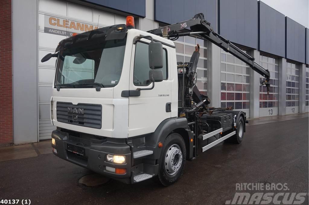 MAN TGM 18.240 Hiab 7 ton/meter laadkraan