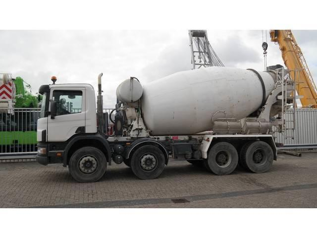 Scania 114C 380 8x4 32T STETTER 9000L MANUAL GEARBOX 365.