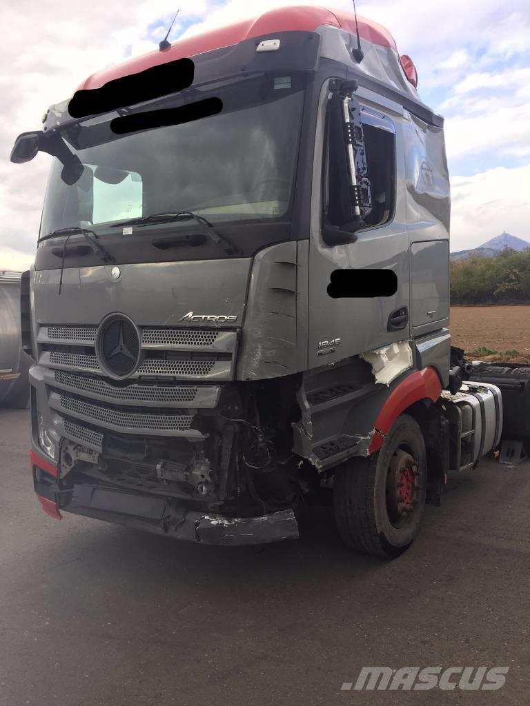 tractor units for mercedes truck used transportation benz year norgedragare actros no sale