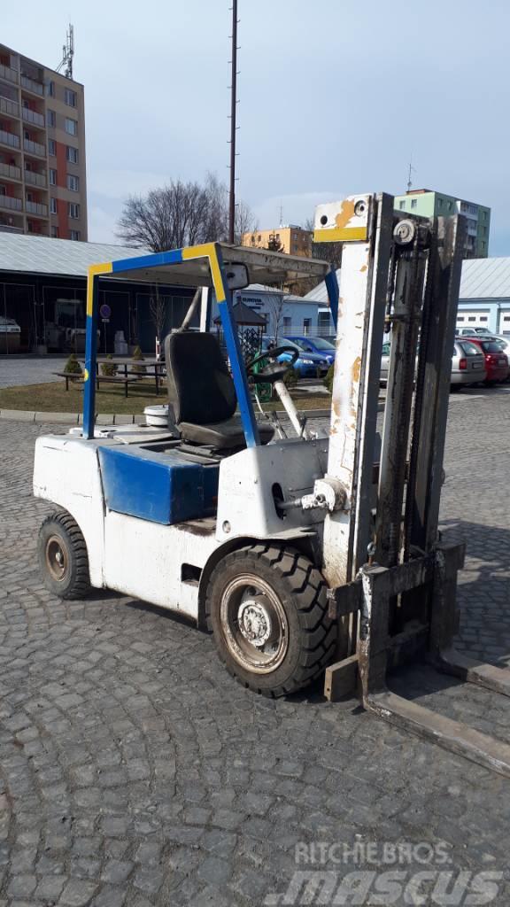 Used BALCANCAR DV1792 33 diesel Forklifts Year: 1997 for