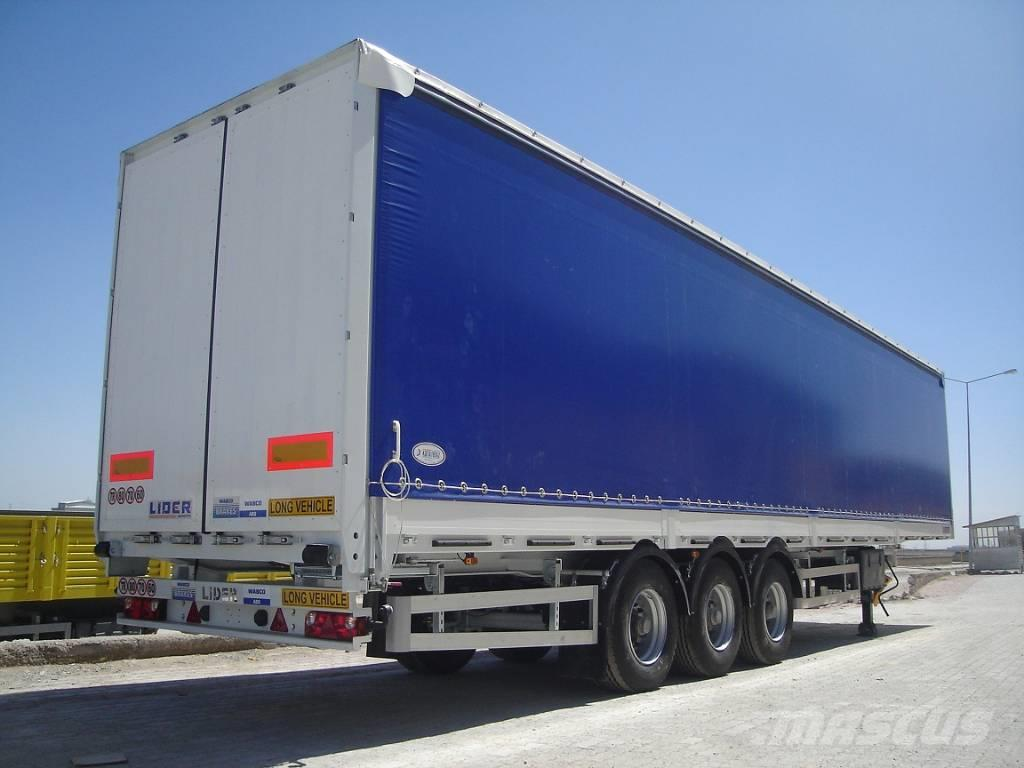 Lider Curtain side semi-trailers