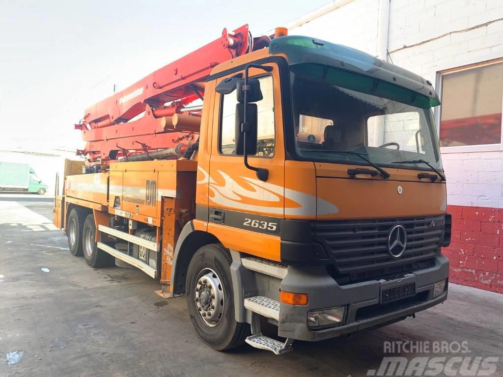Mercedes-Benz Actros 2635 Bombe de Concreto Putzmeister 36 BRF