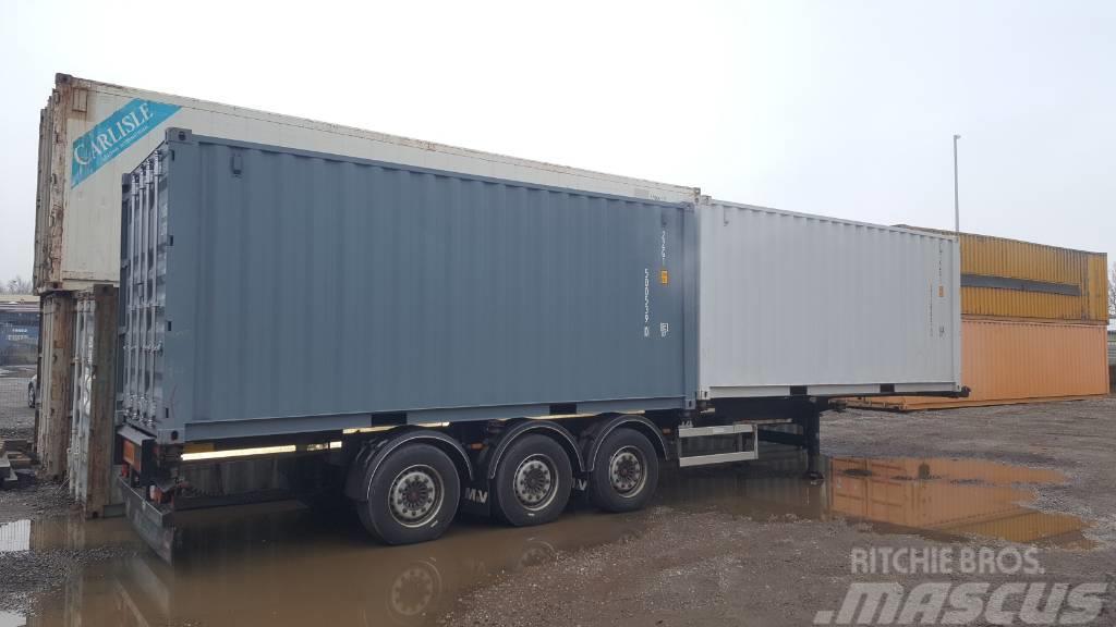 20 Fuss Neu-Container Container/ Lagercontainer / mobiler Lagerraum 6 Me