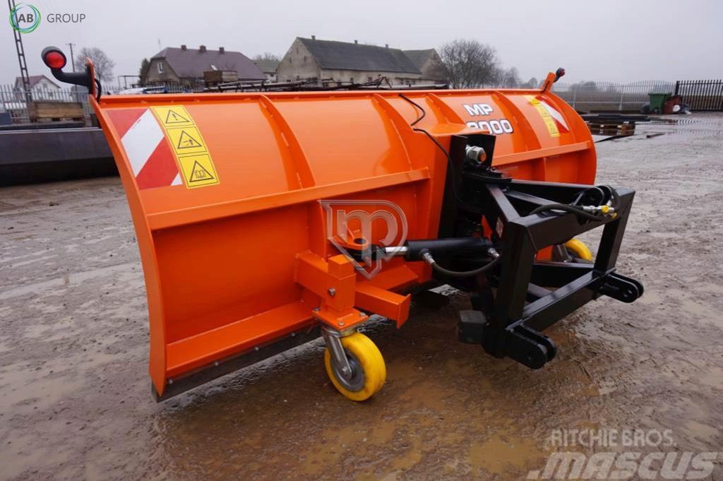 [Other] Metal-Plast Snow plough 3 m/Снегоотвал/Quitanieves