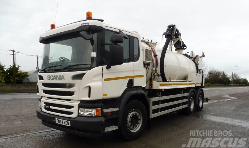 Scania DSU 312 HVIDTVED LARSEN_sewage disposal Trucks Year