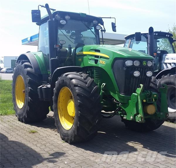 John Deere 7830  AutoQuad Eco Shift