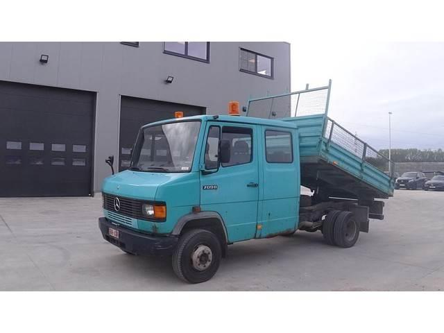 Mercedes-Benz Vario 709 D (FULL STEEL SUSPENSION / SUSPENSION LA