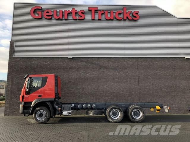 Iveco TRAKKER AT 380 T 50 6X4 UNUSED CHASSIS CAB
