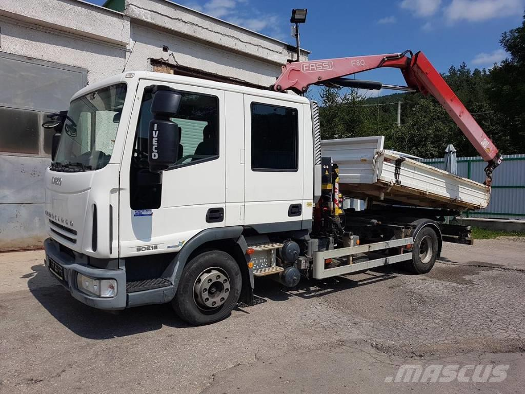 Iveco ML90E18 S3 + CRANE FASSI 80