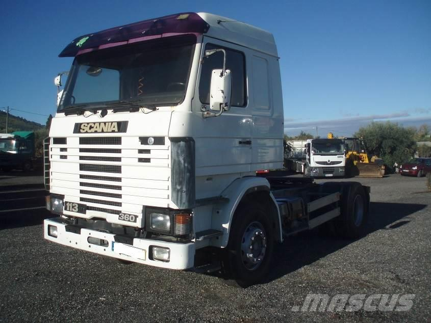 Scania 113, Manufacture date (yr): 1992 - prime Movers. Used Scania