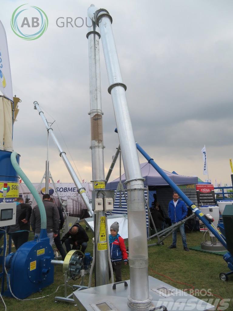Sobmetal Stationary Vertical Grain Conveyor 5m/Przenośnik