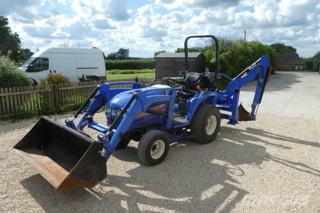 Iseki th4335 wheeled digger
