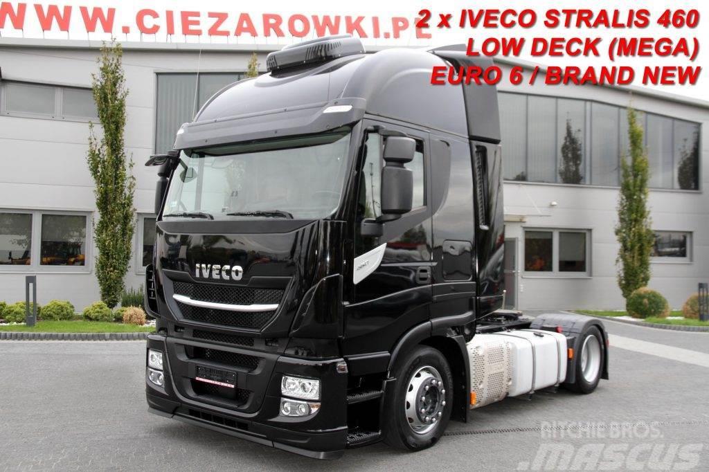 Iveco TRACTOR UNIT STRALIS 460 E6 LOW DECK 2017 BRAND NE