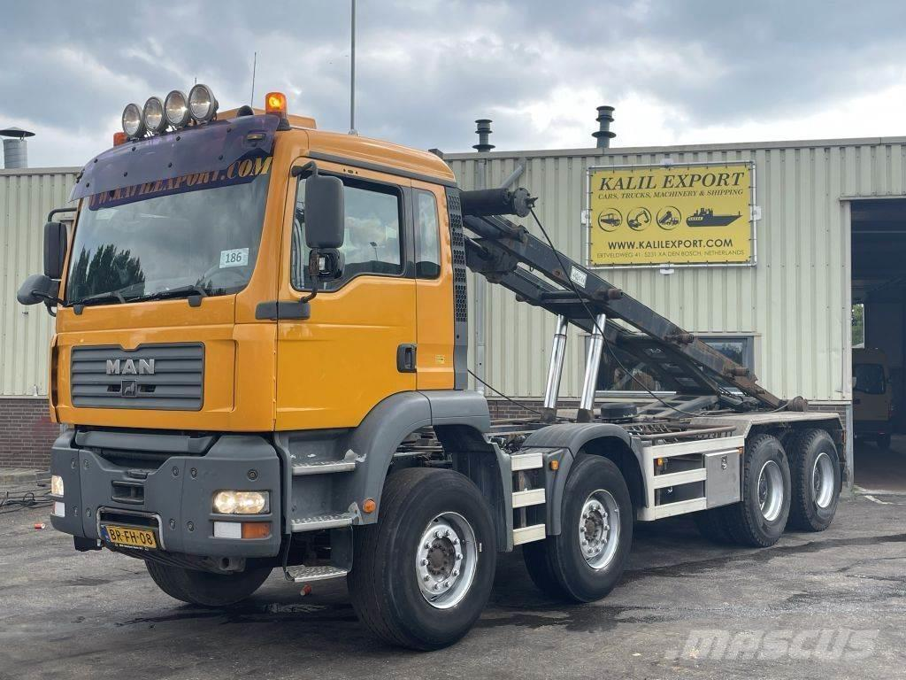 MAN 41.430 TGA 8x4 Container Syst. Full Spring Manuel